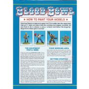 Blood Bowl How To Paint Your Models Pamphlet